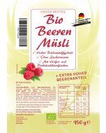 Bio Beeren Müsli - ohne Zuckerzusatz - Verfügbar ab 02.08.