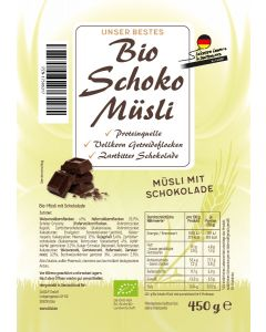Bio Schoko Müsli