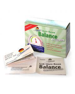 Kombipackung: Säure-Basen Balance + pH-Test + Anweisung  Leichter leben
